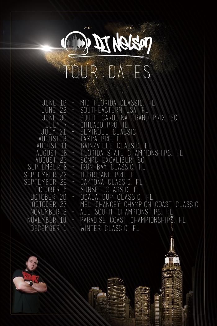 tour dates 2018B